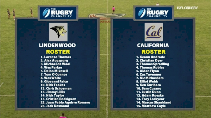 College 7s MD1 Cup Final: Lindenwood vs Cal