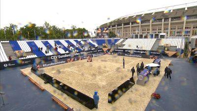 Full Replay - Wojtasik-Kociolek vs Heidrich-Verge Depre A  | (W) CEV Beach Semifinal 2 - Wojtasik-Kociolek vs Heidrich-Verge Depre - Aug 10, 2019 at 3:00 AM CDT