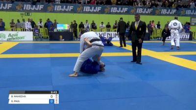 BRIAN MAHECHA vs GIANNI PAUL GRIPPO 2018 European Jiu-Jitsu IBJJF Championship