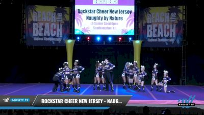 Rockstar Cheer - New Jersey - Naughty by Nature [2021 L6 Senior Coed Open Day 1] 2021 ACDA: Reach The Beach Nationals