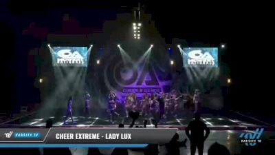 Cheer Extreme - Kernersville - Lady Lux [2021 L6 International Open - NT Day 2] 2021 COA: Midwest National Championship