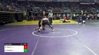 189 lbs Prelims - Garrett Henry, Duncan Demons vs Chase Graham, Oklahoma Wrestling Academy