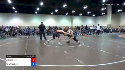 125 kg Prelims - John Borst, Southeast Regional Training Center, Inc vs Wyatt Wriedt, Dubuque Wrestling Club