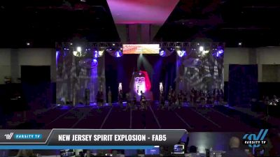 New Jersey Spirit Explosion - Fab 5 [2021 L6 Senior - Small Day 2] 2021 Queen of the Nile: Richmond