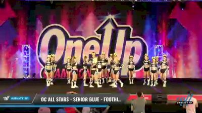 OC All Stars - Senior Blue - Foothill Ranch [2021 L3 Senior - Small Day 2] 2021 One Up National Championship