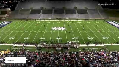 """Troopers """"Casper WY"""" at 2021 DCI Celebration - Mesquite"""