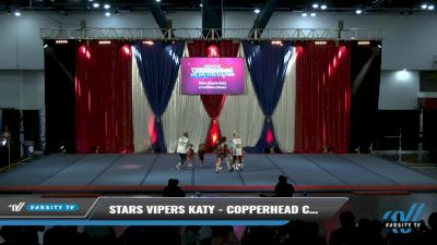 Stars Vipers Katy - Copperhead Cuties [2021 L1 Exhibition (Cheer) Day 2] 2021 The American Spectacular DI & DII