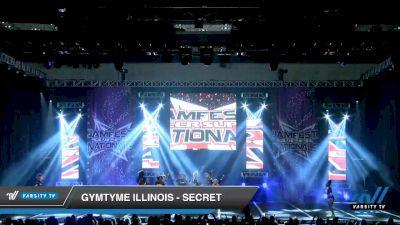 GymTyme Illinois - Secret [2020 L3 Junior - Medium - A Day 2] 2020 JAMfest Cheer Super Nationals