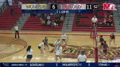 Replay: Milford vs Monroe | Oct 20 @ 7 PM