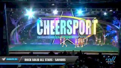 Rock Solid All Stars - SAVIORS [2021 L4 International Open Day 1] 2021 CHEERSPORT National Cheerleading Championship