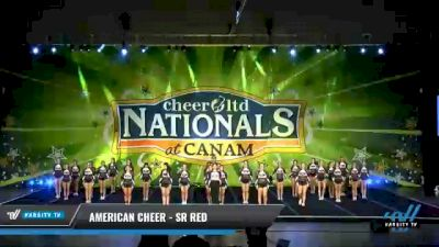 American Cheer - SR RED [2021 L4 Senior Coed Day 2] 2021 Cheer Ltd Nationals at CANAM