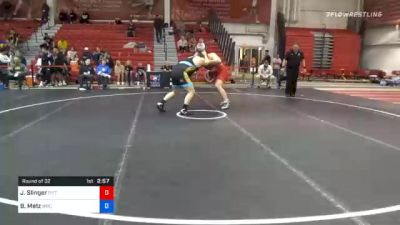 125 kg Prelims - Jacob Slinger, Pittsburgh Wrestling Club vs Brandon Metz, Bison Wrestling Club