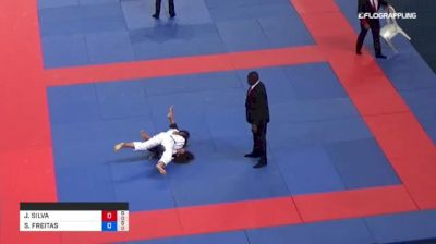 JULIANA SILVA vs SARAH FREITAS 2018 Abu Dhabi Grand Slam Rio De Janeiro