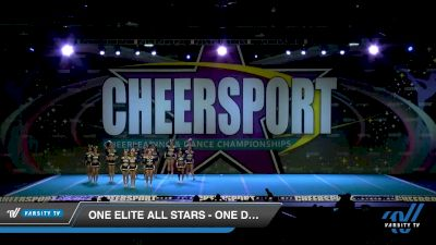 One Elite All Stars - One Desire [2020 Senior Small 3 D2 Division A Day 2] 2020 CHEERSPORT National Cheerleading Championship