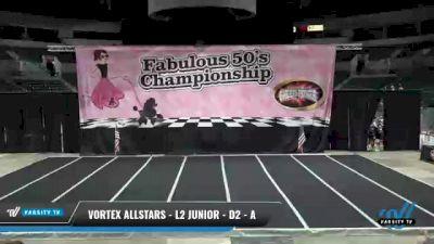 Vortex Allstars - L2 Junior - D2 - A [2021 Aftershock] 2021 ACP Disco Open Championship: Trenton