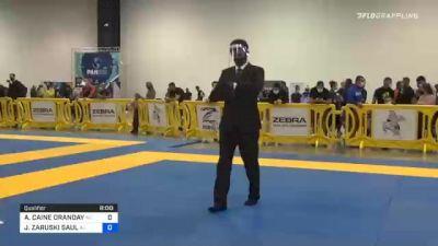 AUSTIN CAINE ORANDAY vs JAVIER ZARUSKI SAUL 2020 IBJJF Pan No-Gi Championship