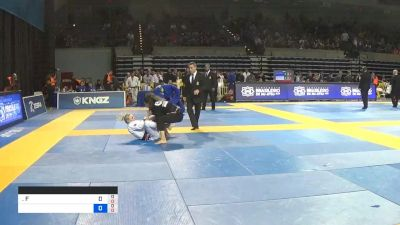 Ffion Davies vs Nathalie Soares 2019 Pan Jiu-Jitsu IBJJF Championship