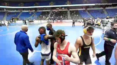 160 lbs 7th Place - Nick Bell, New England vs Owen Quinn, Pennsylvania