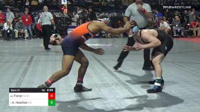 157 lbs Prelims - Jaden Fisher, Bucknell vs AC Headlee, North Carolina