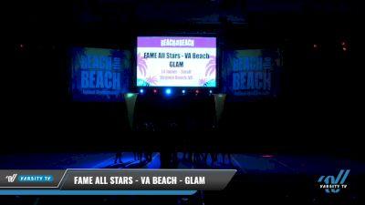 FAME All Stars - VA Beach - GLAM [2021 L4 Junior - Small Day 1] 2021 ACDA: Reach The Beach Nationals