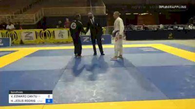 VICTOR EDWARD CANTU vs HECTOR JESUS RODRIGUEZ 2020 World Master IBJJF Jiu-Jitsu Championship