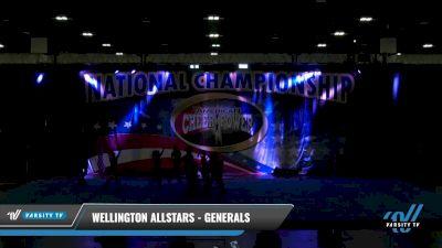 Wellington Allstars - Generals [2021 L1 Junior - D2 Day 2] 2021 ACP: Tournament of Champions