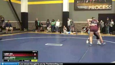 190 lbs Round 3 (3 Team) - Libby Dix, Grand View vs Leah Grimm, FEWTeamIowa