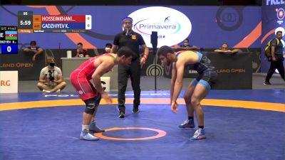 74 kg Semifinal - Mostafa Hosseinkhani, IRI vs Khadzhimurad Gadzhiev, AZE