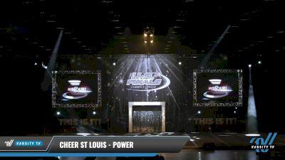 Cheer St Louis - Power [2021 L2.1 Senior - PREP Day 1] 2021 The U.S. Finals: Louisville