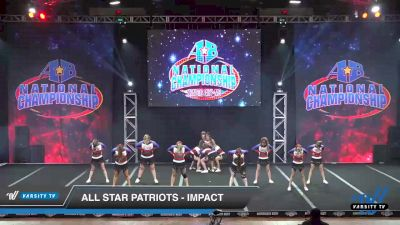 All Star Patriots - Impact [2019 Senior - D2 - Small 2 Day 2] 2019 America's Best National Championship