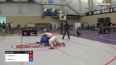 125 kg 5th Place - Jeric Kasunic, DCAC vs Aj Nevills, Valley RTC