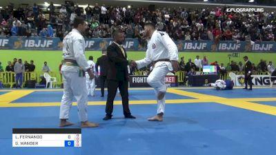 LUIZ FERNANDO vs GUILHERME WANDER 2019 European Jiu-Jitsu IBJJF Championship