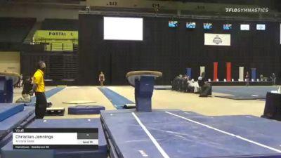 Christian Jennings - Vault, Arizona State - 2021 Men's Collegiate GymACT Championships