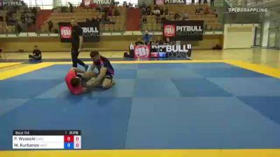 Marat Kurbanov Scoops Leg from Half Guard for Toehold