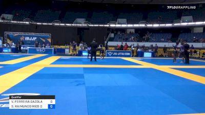 VINICIUS FERREIRA GAZOLA vs SERGIO RAIMUNDO RIOS DA SILVA 2019 World IBJJF Jiu-Jitsu No-Gi Championship