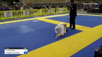 ANTONIO AGUINAGA vs THEOPHILUS DAVID FLETCHER 2021 Pan Kids Jiu-Jitsu IBJJF Championship