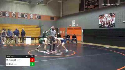 126 lbs 3rd Place - Mason Messick, Newport vs Hayden Shirk, James Buchanan