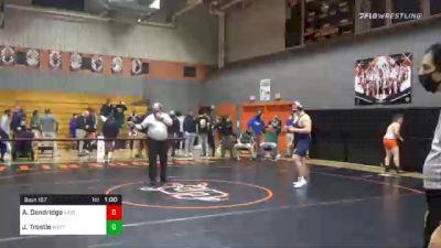 285 lbs 3rd Place - Adam Dandridge, Eastern York vs Josh Trostle, West Perry