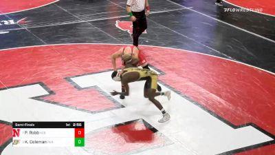 157 lbs Semifinal - Peyton Robb, Nebraska vs Kendall Coleman, Purdue