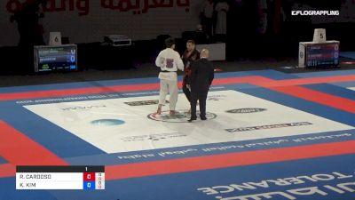 RENATO CARDOSO vs KENWOO KIM Abu Dhabi World Professional Jiu-Jitsu Championship