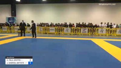 GIANNI PAUL GRIPPO vs JOÃO GABRIEL BATISTA DE SOUSA 2020 IBJJF Pan No-Gi Championship