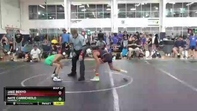 80 lbs Round 8 (10 Team) - Nate Carrichiolo, Hammers vs Jake Benyo, Assassins