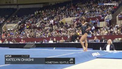 Katelyn Ohashi - Floor, UCLA - Metroplex Challenge (NCAA)