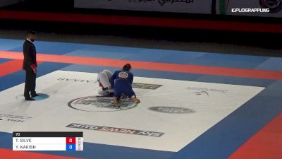 THAMARA SILVA vs YARA KAKISH Abu Dhabi World Professional Jiu-Jitsu Championship