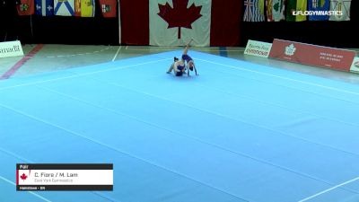 C. Fiore / M. Lam - Pair, East York Gymnastics - 2019 Canadian Gymnastics Championships - Acro