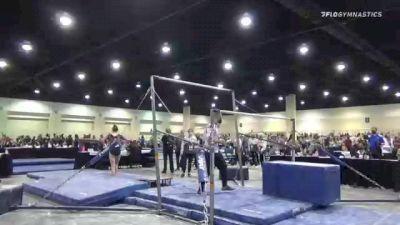 Marguerite McCrea - Bars, WOGA Gym #153 - 2021 USA Gymnastics Development Program National Championships