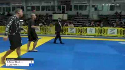 Christopher Edward Cash vs Jason Lee Mask 2021 Pan IBJJF Jiu-Jitsu No-Gi Championship