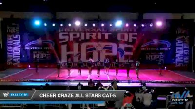 Cheer Craze All Stars Cat-5 [2021 Junior 5 D2 Day 2] 2021 Universal Spirit: Spirit of Hope National Championship