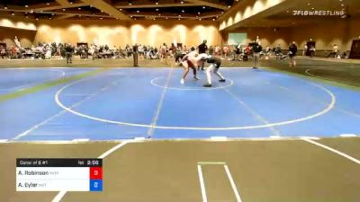 74 kg Consolation - Anthony Robinson, Patriot Elite Wrestling Club vs Ashton Eyler, Mat Town USA
