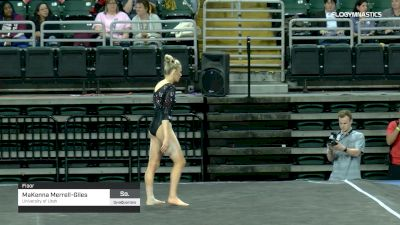 MaKenna Merrell-Giles - Floor, University of Utah - 2019 GymQuarters Invitational